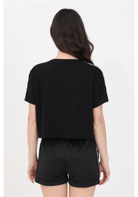 Black silver banda daisy t-shirt short sleeve kappa KAPPA   T-shirt   3113L3WA09