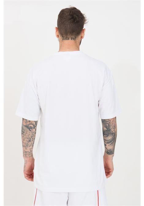 White men's t-shirt short sleeve with maxi print kappa KAPPA | T-shirt | 3116FJWA03