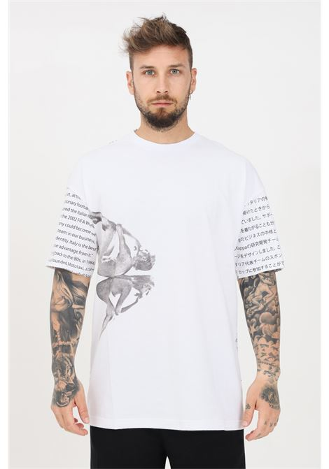 White men's authentic hb erit t-shirt short sleeve kappa KAPPA | T-shirt | 3116FKWA0B