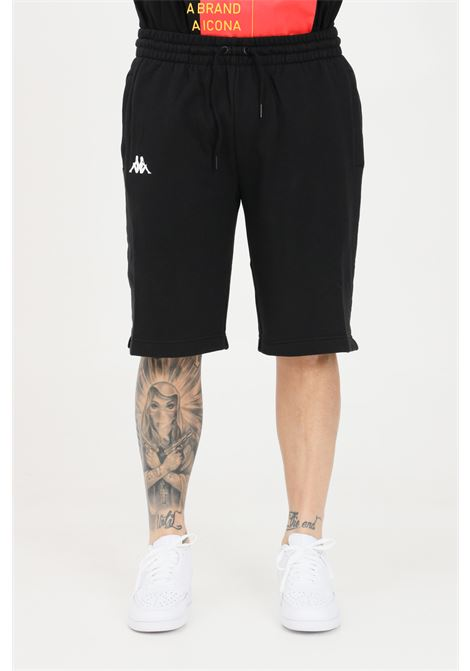 Black men's authentic hb ekar shorts kappa KAPPA | Shorts | 3116FSWA04