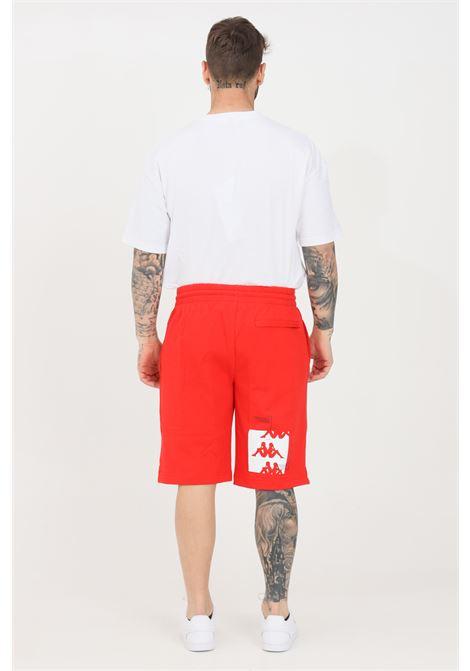 Red men's authentic hb ekar shorts kappa KAPPA | Shorts | 3116FSWA06