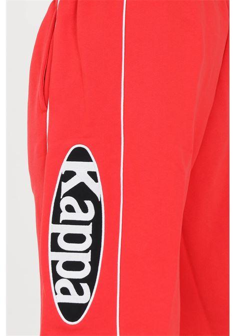 Red men's authentic patch exo shorts kappa KAPPA | Shorts | 3116ZLWA02
