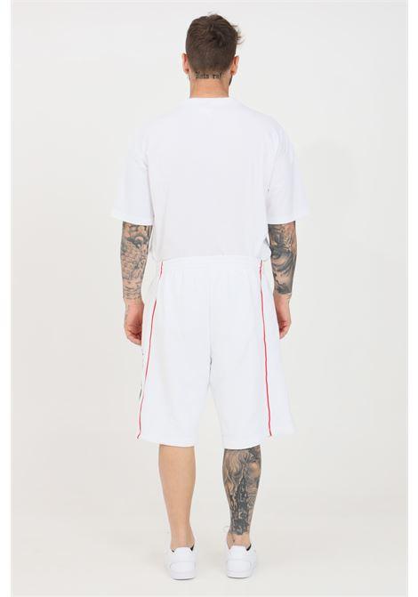 White men's authentic patch exo shorts kappa KAPPA | Shorts | 3116ZLWA0C