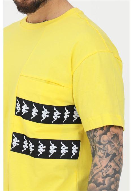 T-shirt banda efto uomo giallo kappa manica corta KAPPA | T-shirt | 3117CJWBZ0