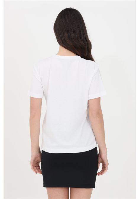 White women's t-shirt short sleeve with animal logo kappa KAPPA | T-shirt | 311BFRW001