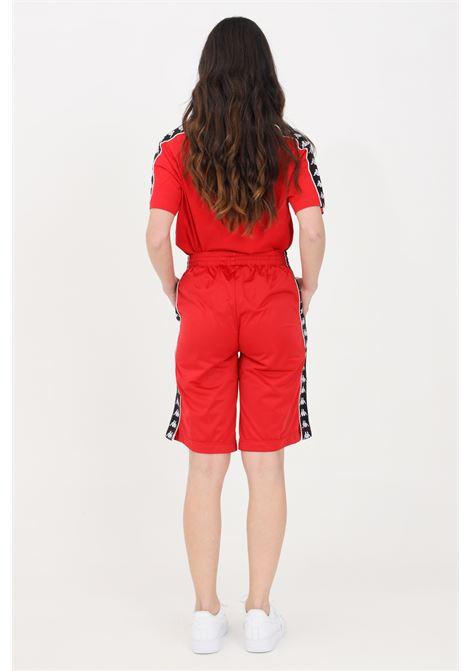 Red unisex shorts kappa KAPPA | Shorts | 3500920A32