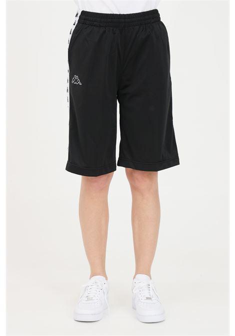 Black unisex shorts kappa KAPPA | Shorts | 3500920AE2