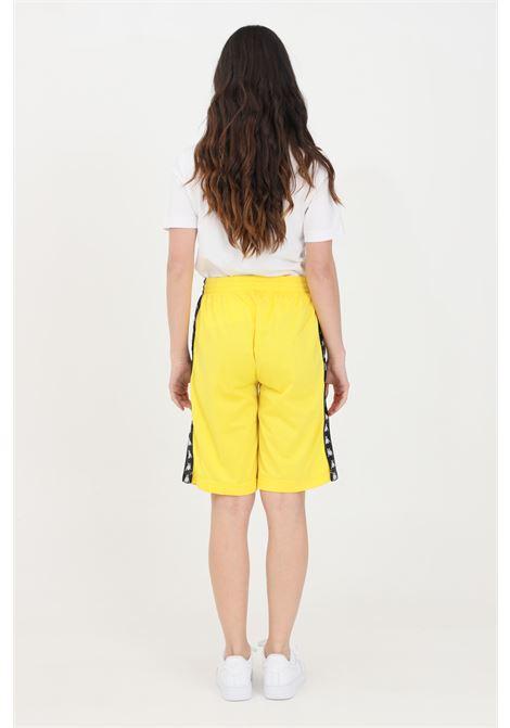 Yellow unisex shorts kappa KAPPA | Shorts | 3500920BZ0