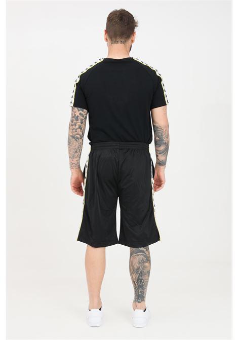 Black unisex shorts kappa KAPPA | Shorts | 3500920C1C