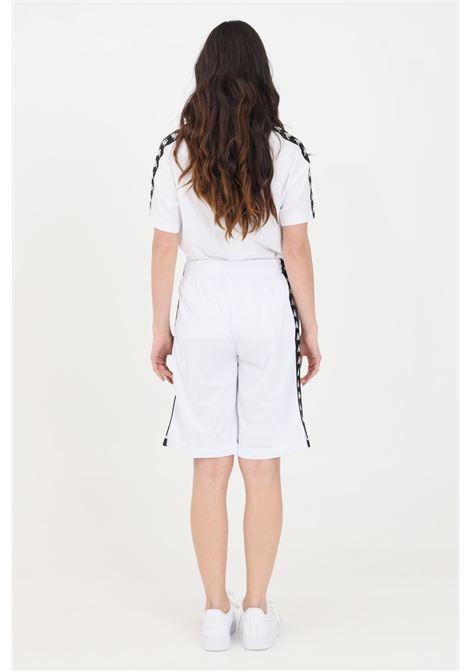 White unisex shorts kappa KAPPA | Shorts | 3500920J62