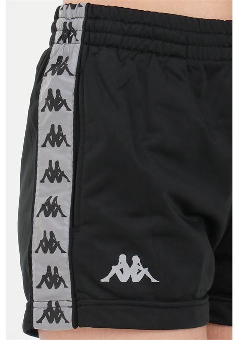 Black women's banda elina shorts kappa KAPPA | Shorts | 36143IWA09