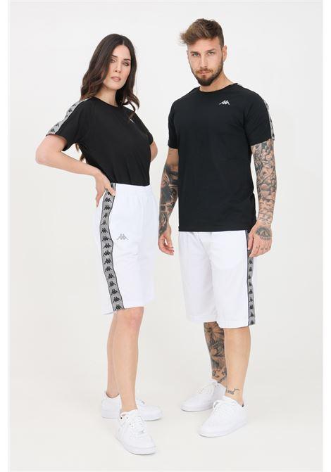 White unisex shorts kappa KAPPA | Shorts | 37145CWA0E
