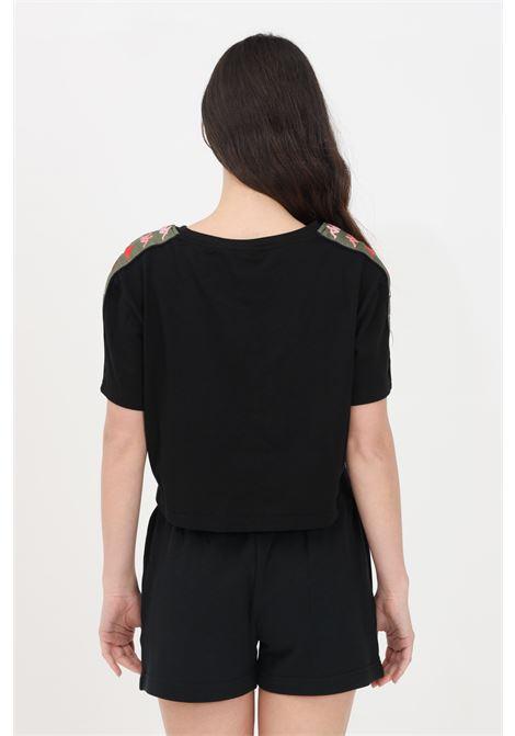 T-shirt authentic gadda donna nero kappa a manica corta KAPPA | T-shirt | 38136YWA01