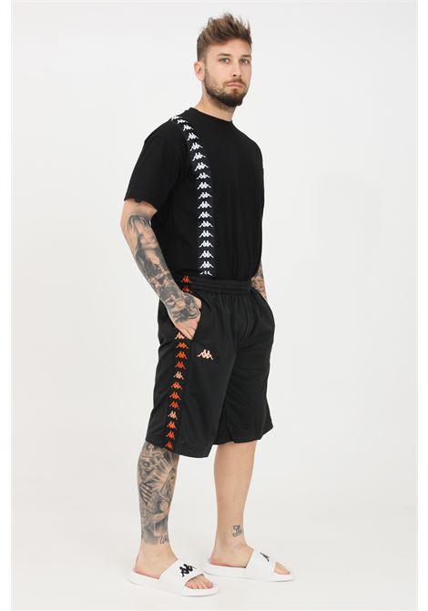 Black men's authentic galfer shorts kappa KAPPA | Shorts | 38143GWA00