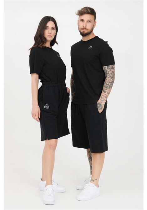 Black unisex shorts kappa KAPPA | Shorts | 38145KW005