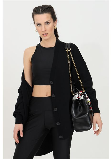 Black cardigan with buttons kontatto KONTATTO | Cardigan | 3M726701