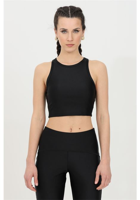 Black top, short-cut model. Kontatto KONTATTO | Top | B330101