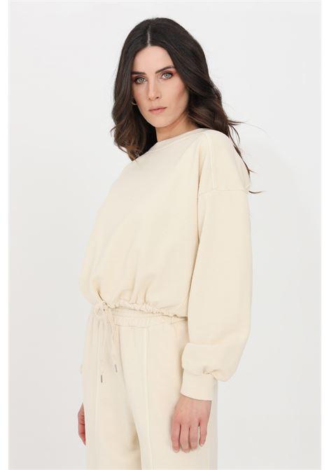 Beige crew neck sweatshirt kontatto KONTATTO | Sweatshirt | M160931