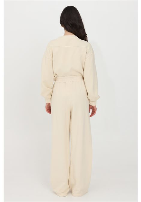Beige casual trousers kontatto KONTATTO | Pants | M161031