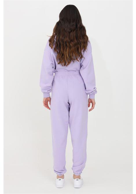 Lilac women's trousers kontatto KONTATTO | Pants | SDK200141