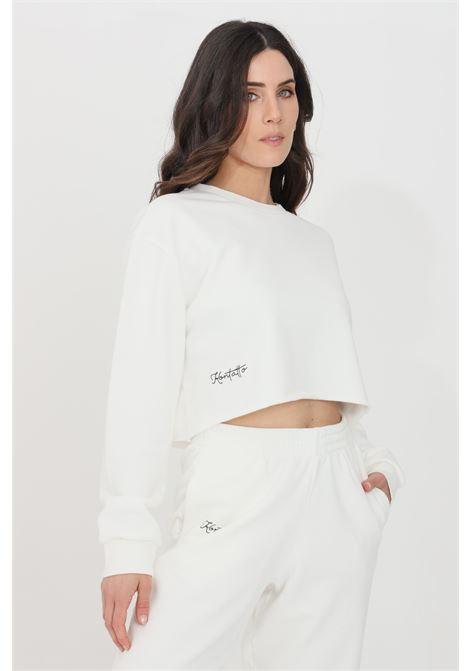 White crew neck sweatshirt kontatto KONTATTO | Sweatshirt | SDK20202