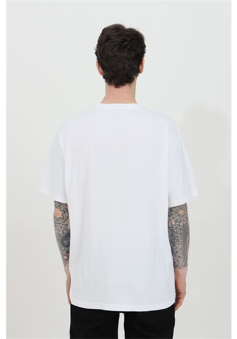 White t-shirt with front logo in contrast, basic model with short sleeves. Relax fit. Levi's  LEVI'S | T-shirt | 16143-00830083