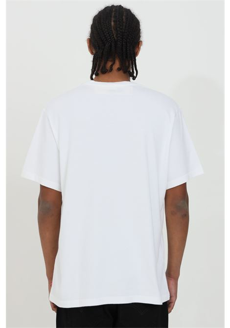 White t-shirt with front logo print, basic model with short sleeves. Levi's LEVI'S | T-shirt | 16143-01060106
