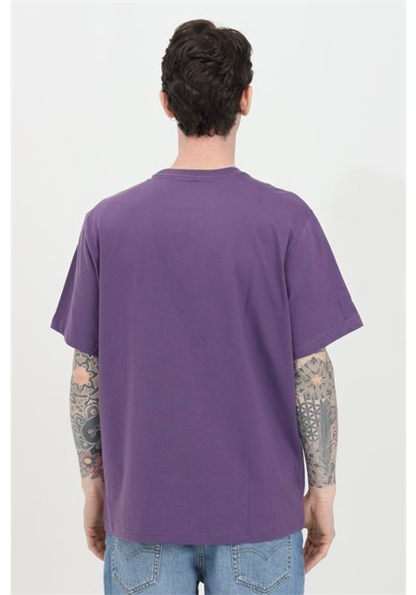 Purple t-shirt with front logo print, basic model with short sleeves. Levi's LEVI'S | T-shirt | 16143-01200120