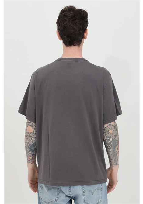 Grey t-shirt with front logo, short sleeve. Over size model. Levi's LEVI'S | T-shirt | 16143-02270227