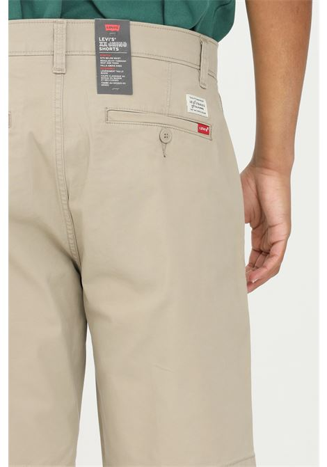 Shorts chino taper XX uomo beige levi's casual in tinta unita con tasche laterali e tessuto leggermente elasticizzato LEVI'S | Shorts | 17202-00080008