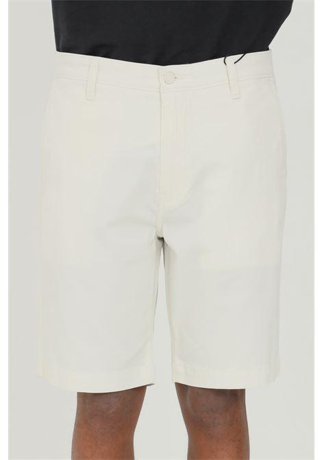 Shorts chino taper XX uomo bianco levi's casual in tinta unita con tasche laterali e tessuto leggermente elasticizzato LEVI'S | Shorts | 17202-00220022