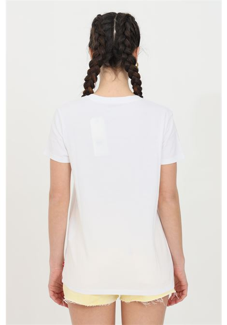 White t-shirt with front summer print, short sleeve. Comfortable model. Levi's LEVI'S | T-shirt | 17369-12651265