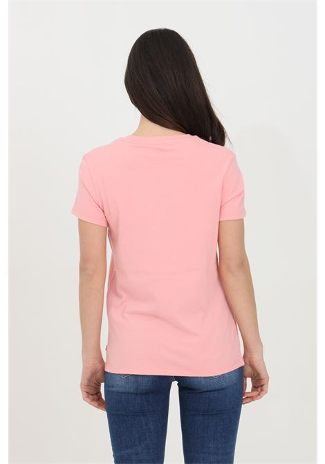 Pink t-shirt in solid color with front print in contrast, short sleeve. Levi's LEVI'S | T-shirt | 17369-14501450