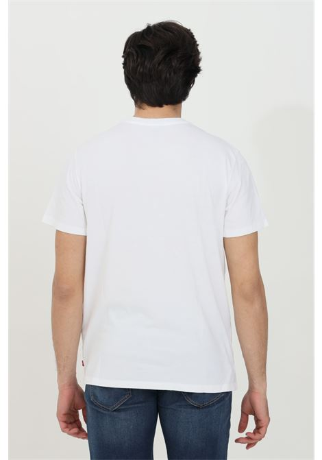 White t-shirt with front print, short sleeve. Levi's LEVI'S | T-shirt | 22489-03180318