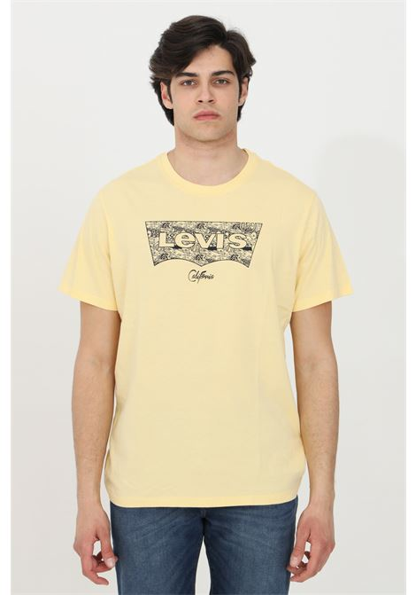 Orange t-shirt with front print, short sleeve. Levi's  LEVI'S | T-shirt | 22489-03210321
