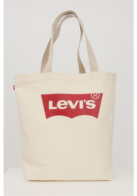Beige sea shopper with contrasting logo on the front. Levi's LEVI'S | Bag | 227853-00006021