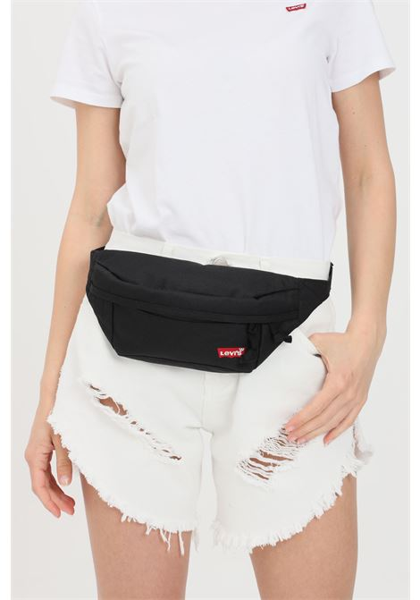 Black pouch with double zip. Levi's LEVI'S | Pouch | 231912-00208059