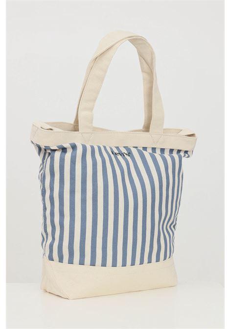 Beige-blue sea bag with magnetic closure. Levi's LEVI'S | Bag | 233137-00006102