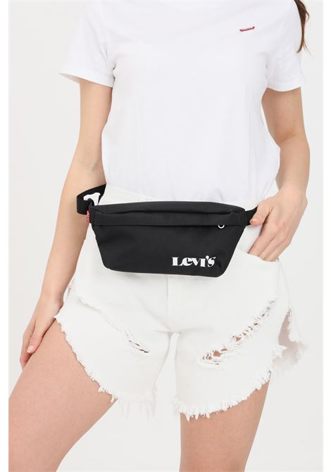 Black pouch with contrasting logo on the front. Levi's  LEVI'S | Pouch | 233149-00208059