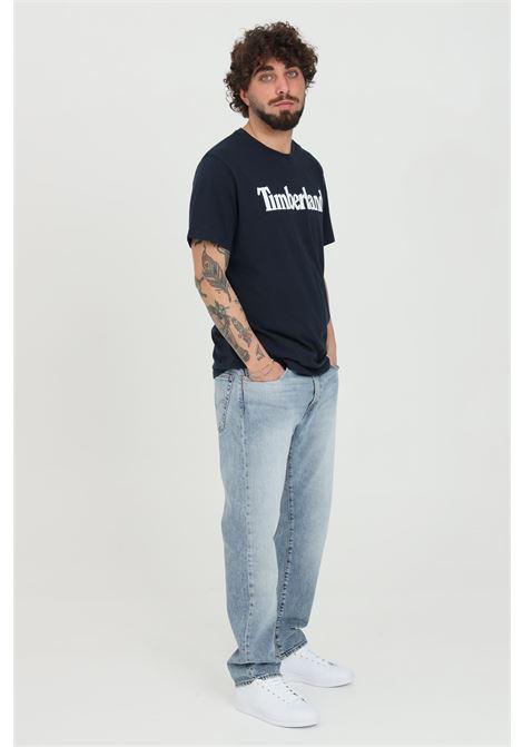 Jeans 502 taper uomo azzurro levi's modello basic 5 tasche con tasche laterali, regular fit LEVI'S | Jeans | 29507-09400940