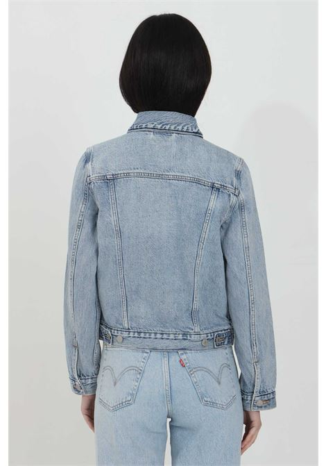 Denim jacket with buttons, regular collar and front pockets, comfortable model with wide sleeves. Levi's  LEVI'S | Jacket | 29945-01000100