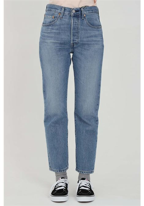 High waist jeans and button closure LEVI'S | Jeans | 36200-01590159