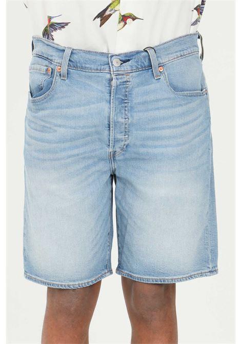 Shorts 501 hammed uomo denim levi's casual, pantaloncino di jeans classico LEVI'S | Shorts | 36512-00900090