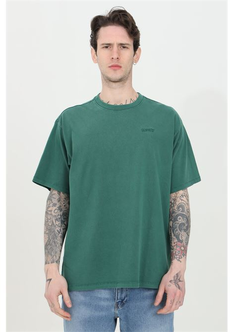 Green t-shirt in solid color with small logo in contrast, short sleeve. Comfortable model. Levi's LEVI'S | T-shirt | 39856-00140014