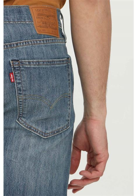 Denim shorts with front abrasions and medium waist. Comfortable stretch model with buttons. Levi's LEVI'S | Shorts | 39864-00160016