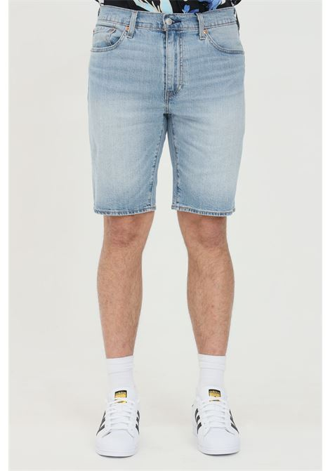 Denim standard 405 shorts with belt loops and closure with zip and button.  Medium waist model. Levi's LEVI'S | Shorts | 39864-00360036