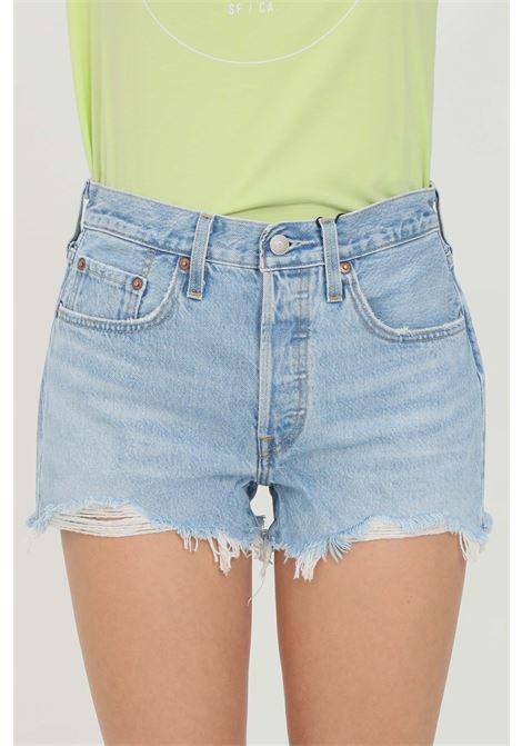 Shorts original high waist and frayed bottom LEVI'S | Shorts | 56327-00860086