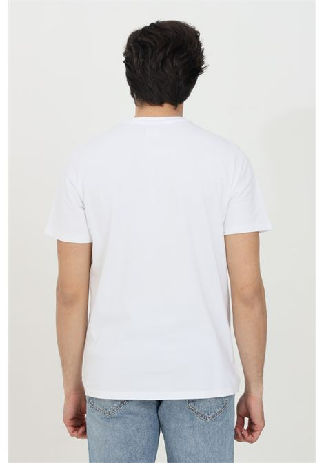 White t-shirt in solid color with contrasting logo on the front. Comfortable model. Levi's  LEVI'S | T-shirt | 56605-00000000