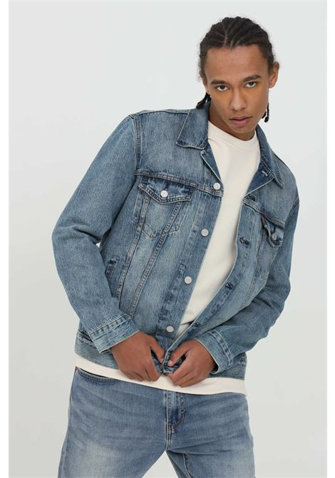 Denim trucker jacket with buttons LEVI'S | Jacket | 72334-03510351