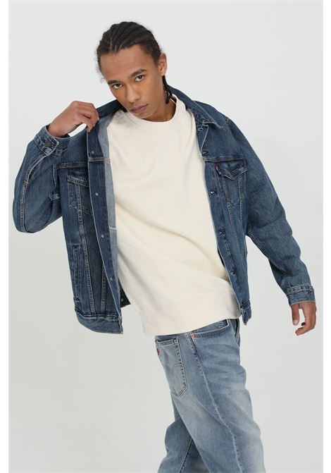Denim trucker jacket with buttons LEVI'S | Jacket | 72334-03540354